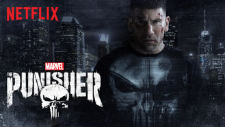 Netflix box art for Marvel's The Punisher - Season 1